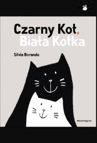 Czarny-Kot,-Biala-Kotka